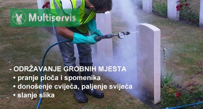 Čišćenje grobnih mjesta
